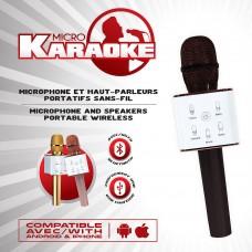 Micro karaoke sans-fil