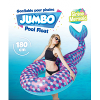 gonflable pour piscine sirène jumbo